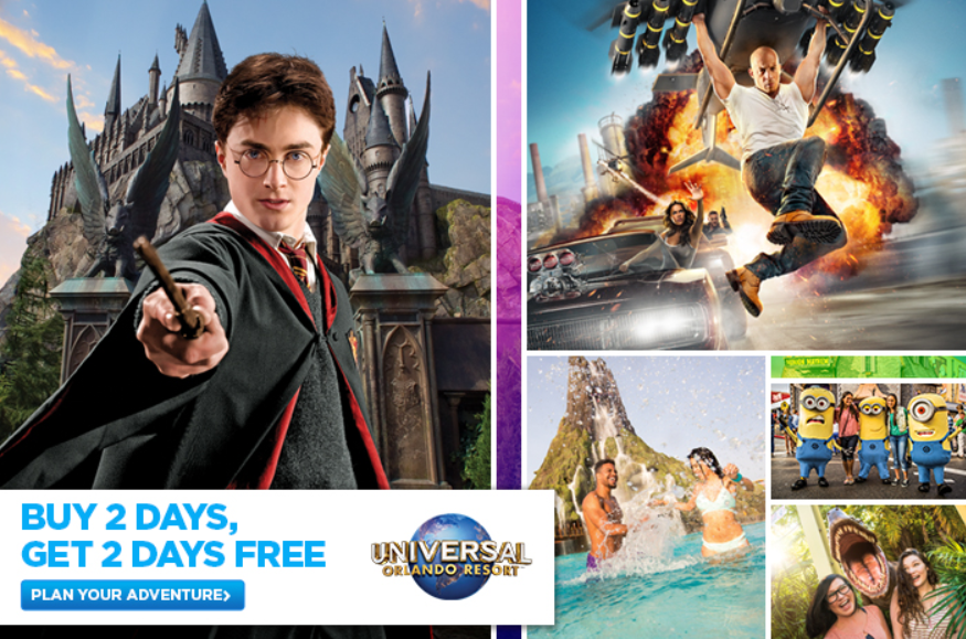 Universal Orlando Cheapest Tickets